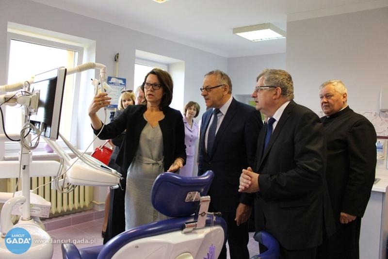 Otwarcie Szkolnego Gabinetu Dentystycznego W Kosinie