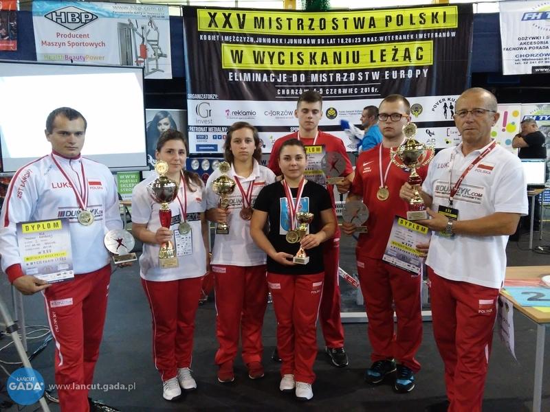 Mistrzostwa Polski pod dyktando łańcuckich sztangistów