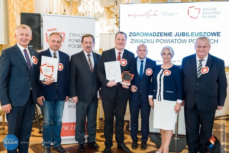 Starosta Łańcucki starostą 20-lecia