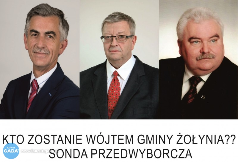 Kto zostanie wójtem gminy Żołynia? [SONDA]