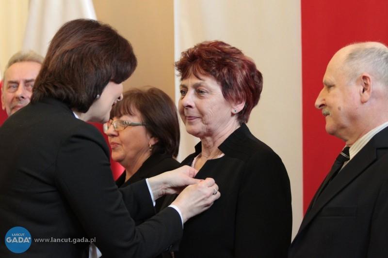 Złoty medal dla Haliny Szpunar