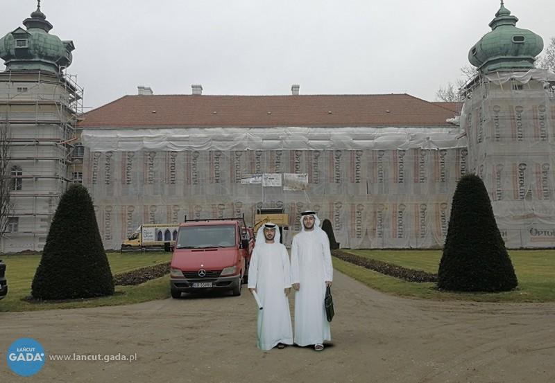 Szejkowie chcą kupić zamek!