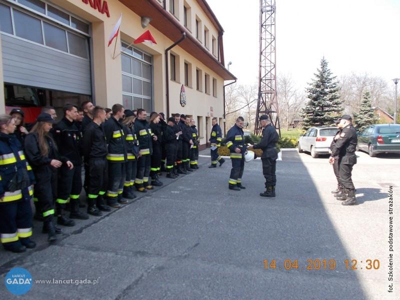 Szkolenie strażaków OSP