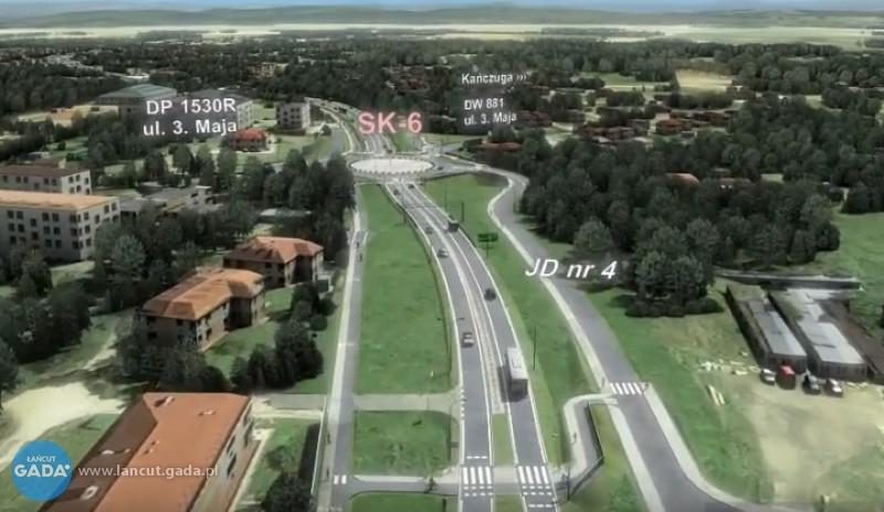 Wizualizacja projektu budowy DK-94