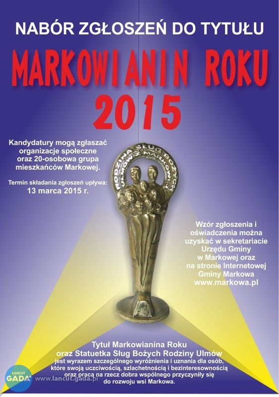 Markowianin Roku 2015