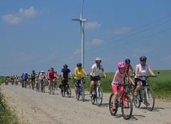 Powiatowy Rajd Rowerowy Szlakiem Energii Wiatrowej