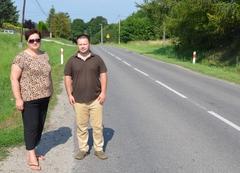 Będą walczyć obezpieczeństwo na drodze biegnącej przez Łańcut igminę Czarna