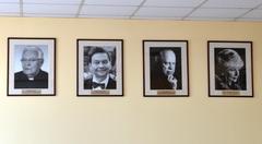 Portrety honorowych obywateli Łańcuta zdobią ściany urzędu