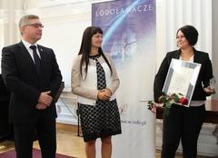 """Łańcucka spółdzielnia """"Stawiamy Ślady"""" Lodołamaczem 2015"""