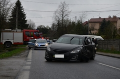 Wypadek na drodze Łańcut-Sonina