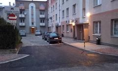 """Samowolka na osiedlowym """"parkingu"""""""