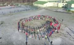 Świąteczny flashmob Iskierki