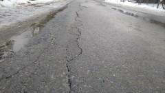 Razem ze śniegiem stopił się asfalt