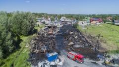 Sanepid wydał zalecenia po pożarze