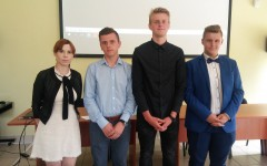 Nagroda dla uczniów ZS wWysokiej