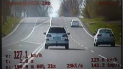 """Pijany """"pędził"""" 127 km/h"""