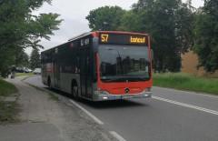 Linia 57 zawieszona