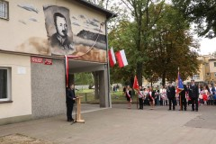Odsłonięto mural ppłk. Ignacego Szpunara