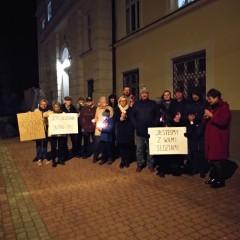 Protest wobronie niezależnych sądów