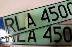 Pierwsze zielone tablice wpowiecie