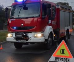 Wypadek na A4, dwie ranne osoby