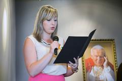 Jan Paweł II zasmakował włańcuckim...pierniku!