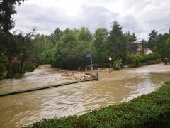 Rzeka Sawa wylała