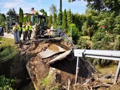 Usuwanie skutków powodzi