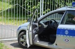 Pijany ukradł auto iuszkodził ogrodzenie