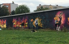 Graffiti Jam wŁańcucie