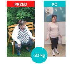 Pani Małgosia schudła 32 kg zProjekt Zdrowie!