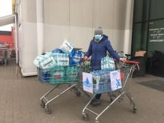 Zbiórka wody dla pacjentów