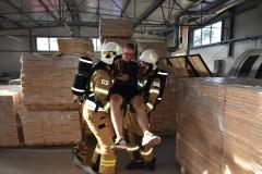 Ćwiczyli strażacy zOSP iPSP
