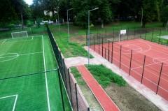 Kolejny etap budowy kompleksu sportowego przy ZST wŁańcucie zakończony