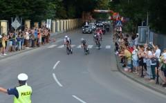 Tour de Pologne na drogach powiatu