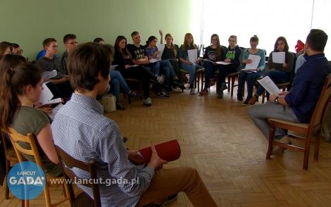 """Za kulisami projektu """"Filmowy Łańcut"""""""