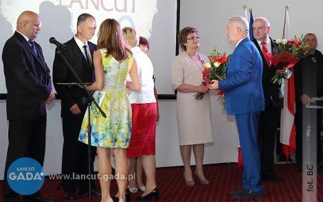 Uroczyste rozpoczęcie jubileuszu powstania MOSiR-u wŁańcucie