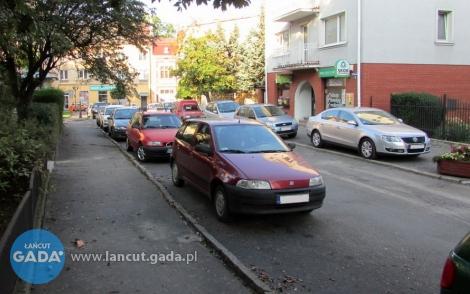 Będzie więcej miejsc parkingowych wcentrum Łańcuta
