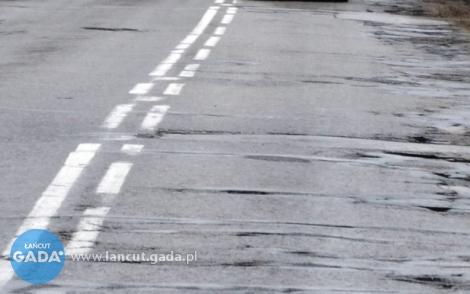 W tym roku dofinansowanie tylko do przebudowy drogi Białobrzegi-Kosina