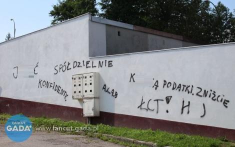 Wulgaryzmy na murach