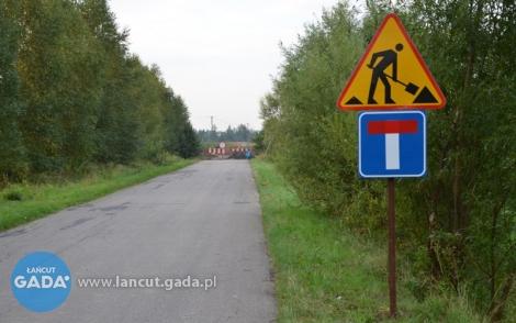 Remont drogi powiatowej Białobrzegi-Kosina