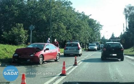 Wypadek na ul. Mościckiego