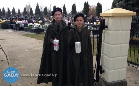 Zbiórki na cmentarzach