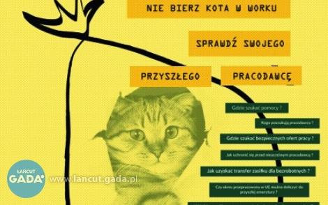 Praca za granicą? Nie bierz kota wworku