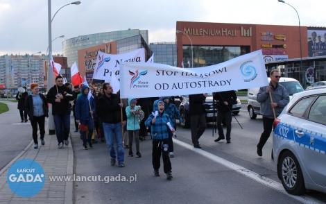 """Marsz """"Stop Hałasowi od Autostrady"""""""