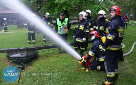 Pożar skansenu wMarkowej