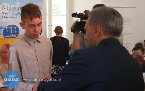Adrian Szpunar laureatem ogólnopolskiego konkursu