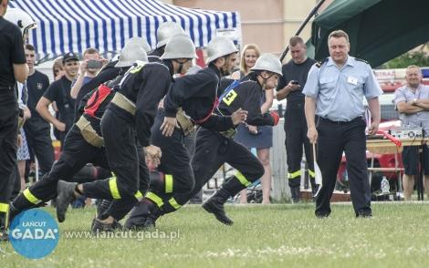 Zawody strażackie wgminie Łańcut