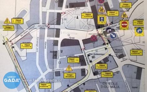 Zmiana ruchu wcentrum miasta