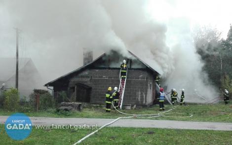 Pożar budynku